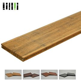 Prefabricated Water Proof Solid Bamboo Flooring Fireproofing 18mm Thickness